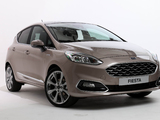 Ford Vignale Fiesta 5-door 2017 photos