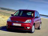 Images of Ford Fiesta 5-door 2002–05