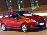 Images of Ford Fiesta 3-door ZA-spec 2008–13