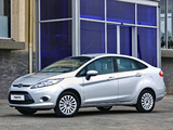 Images of Ford Fiesta Sedan ZA-spec 2010