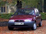 Photos of Ford Fiesta 5-door UK-spec 1995–99