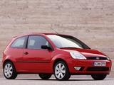 Photos of Ford Fiesta 3-door 2002–05