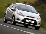 Photos of Ford Fiesta Sedan ZA-spec 2010