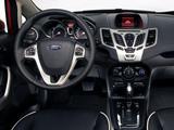Photos of Ford Fiesta Sedan US-spec 2010