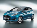 Photos of Ford Fiesta 5-door 2012