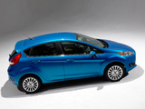 Photos of Ford Fiesta Hatchback US-spec 2013