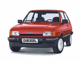 Pictures of Ford Fiesta Ghia Diesel 1983–89