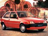 Pictures of Ford Fiesta 3-door UK-spec 1989–97