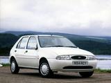 Pictures of Ford Fiesta 5-door UK-spec 1995–99