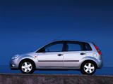 Pictures of Ford Fiesta 5-door 2002–05