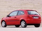 Pictures of Ford Fiesta 3-door 2002–05