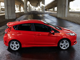 Pictures of Ford Fiesta ST US-spec 2013