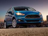 Pictures of Ford Fiesta Hatchback US-spec 2013