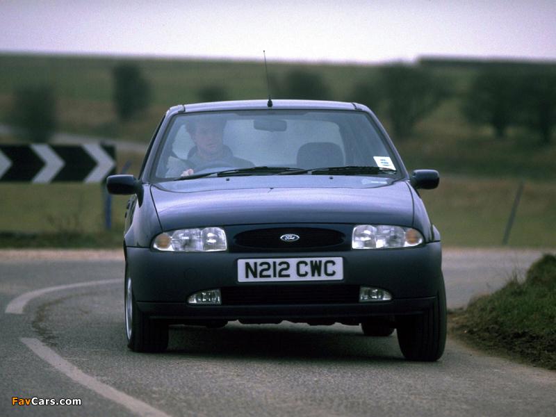 Ford Fiesta 5-door UK-spec 1995–99 wallpapers (800 x 600)