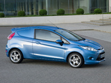 Ford Fiesta Van 2008 wallpapers