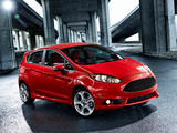 Ford Fiesta ST US-spec 2013 wallpapers