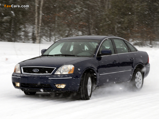 Ford Five Hundred (D258) 2004–07 images (640 x 480)