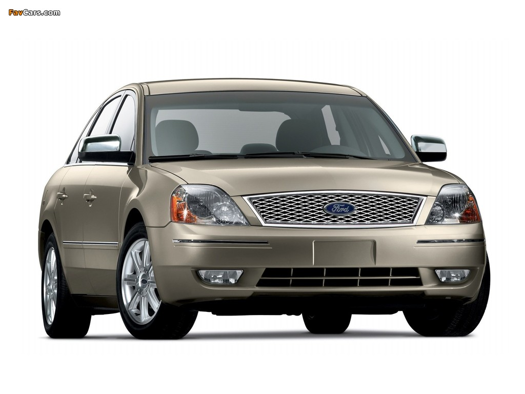 Ford Five Hundred (D258) 2004–07 photos (1024 x 768)