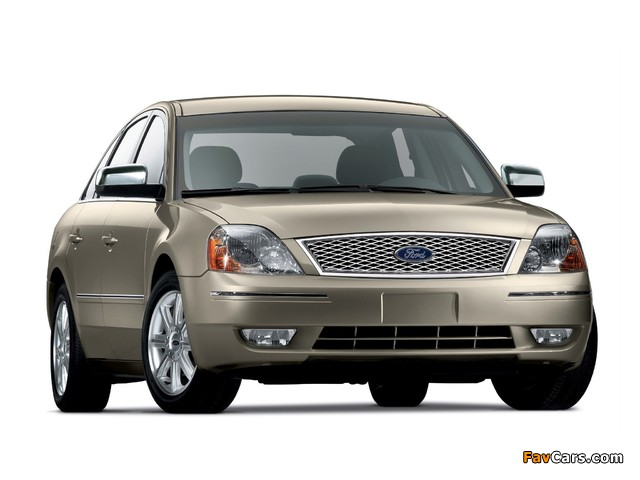 Ford Five Hundred (D258) 2004–07 photos (640 x 480)
