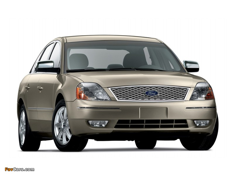 Ford Five Hundred (D258) 2004–07 photos (800 x 600)