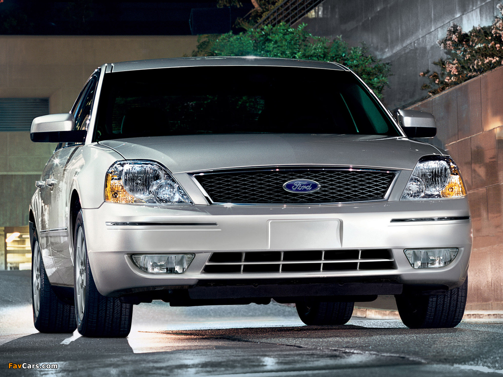 Photos of Ford Five Hundred (D258) 2004–07 (1024 x 768)