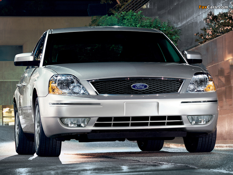 Photos of Ford Five Hundred (D258) 2004–07 (800 x 600)