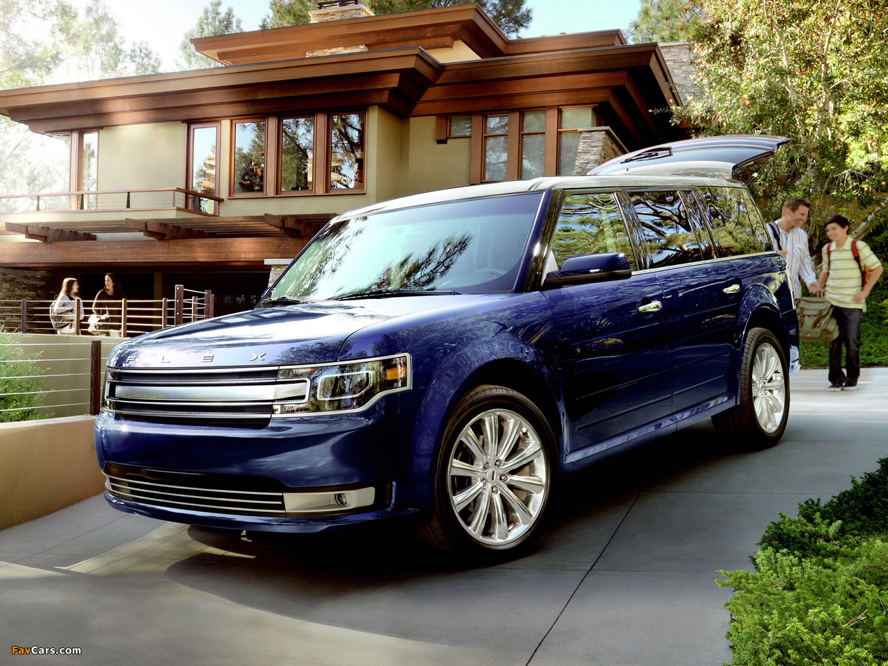 Ford Flex 2012 pictures (1280 x 960)