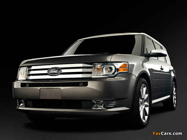 Ford Flex 3.5 EcoBoost 2009–12 wallpapers (640 x 480)
