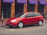 Ford Focus ZX3 1999–2004 photos