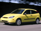 Ford Focus ZX3 1999–2004 pictures