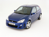 Ford Focus RS 2002–03 images