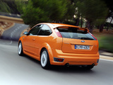 Ford Focus ST 3-door 2005–07 images