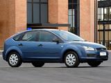 Ford Focus 5-door ZA-spec 2005–06 pictures