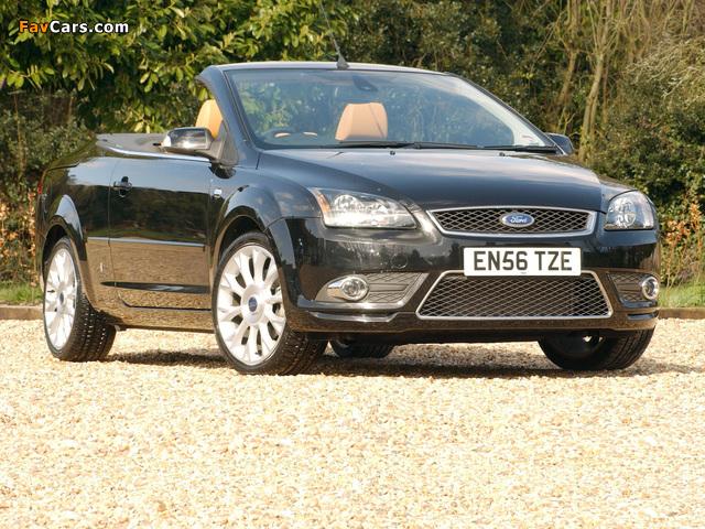 Ford Focus CC UK-spec 2006–08 pictures (640 x 480)