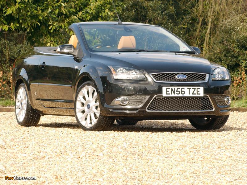 Ford Focus CC UK-spec 2006–08 pictures (800 x 600)