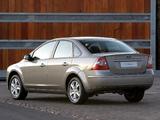 Ford Focus Sedan ZA-spec 2007–08 wallpapers