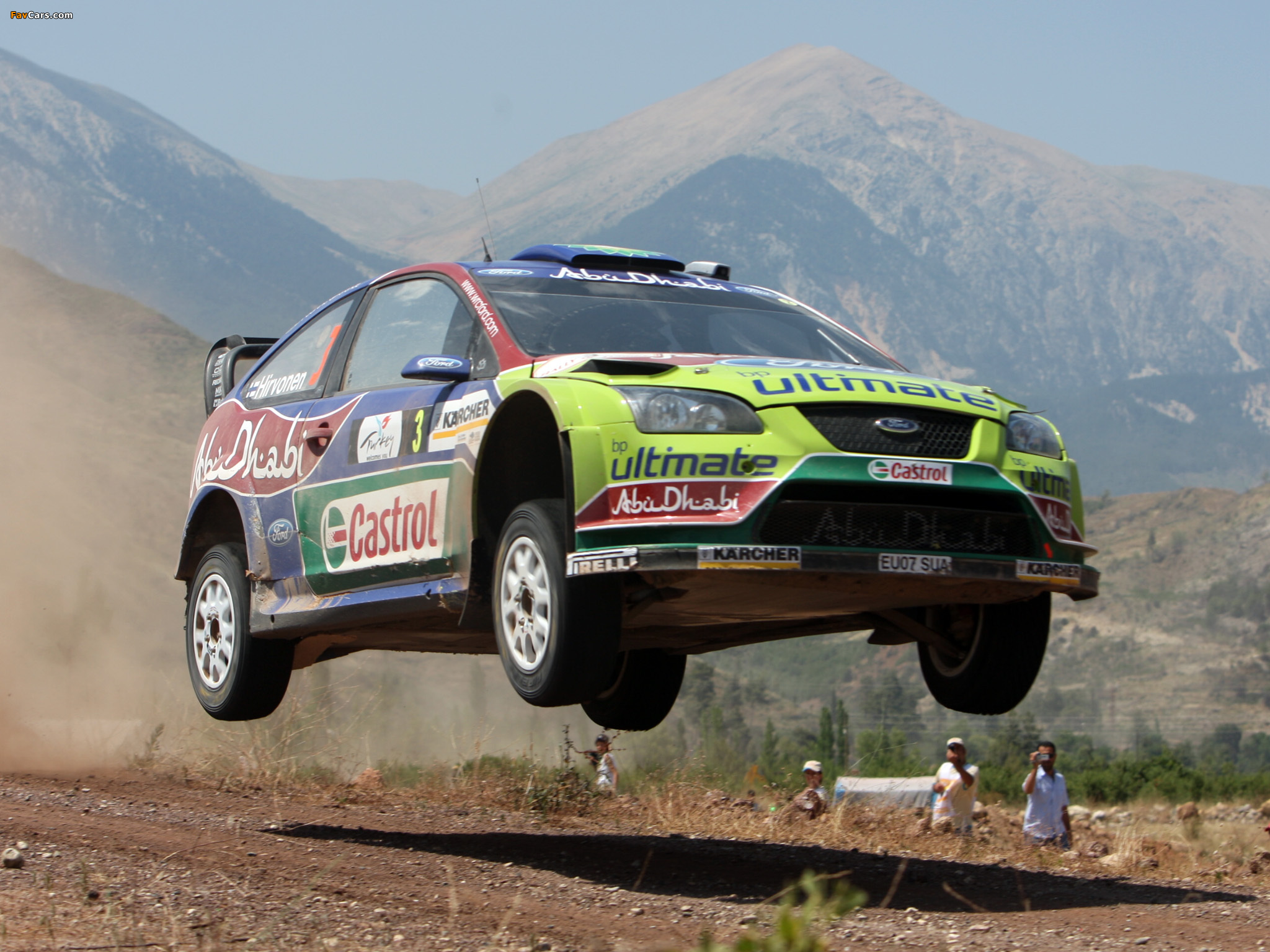 Ford Focus RS WRC 2008–10 images (2048 x 1536)