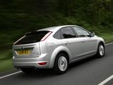 Ford Focus 5-door UK-spec 2008–11 photos
