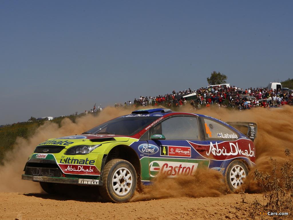 Ford Focus RS WRC 2008–10 photos (1024 x 768)
