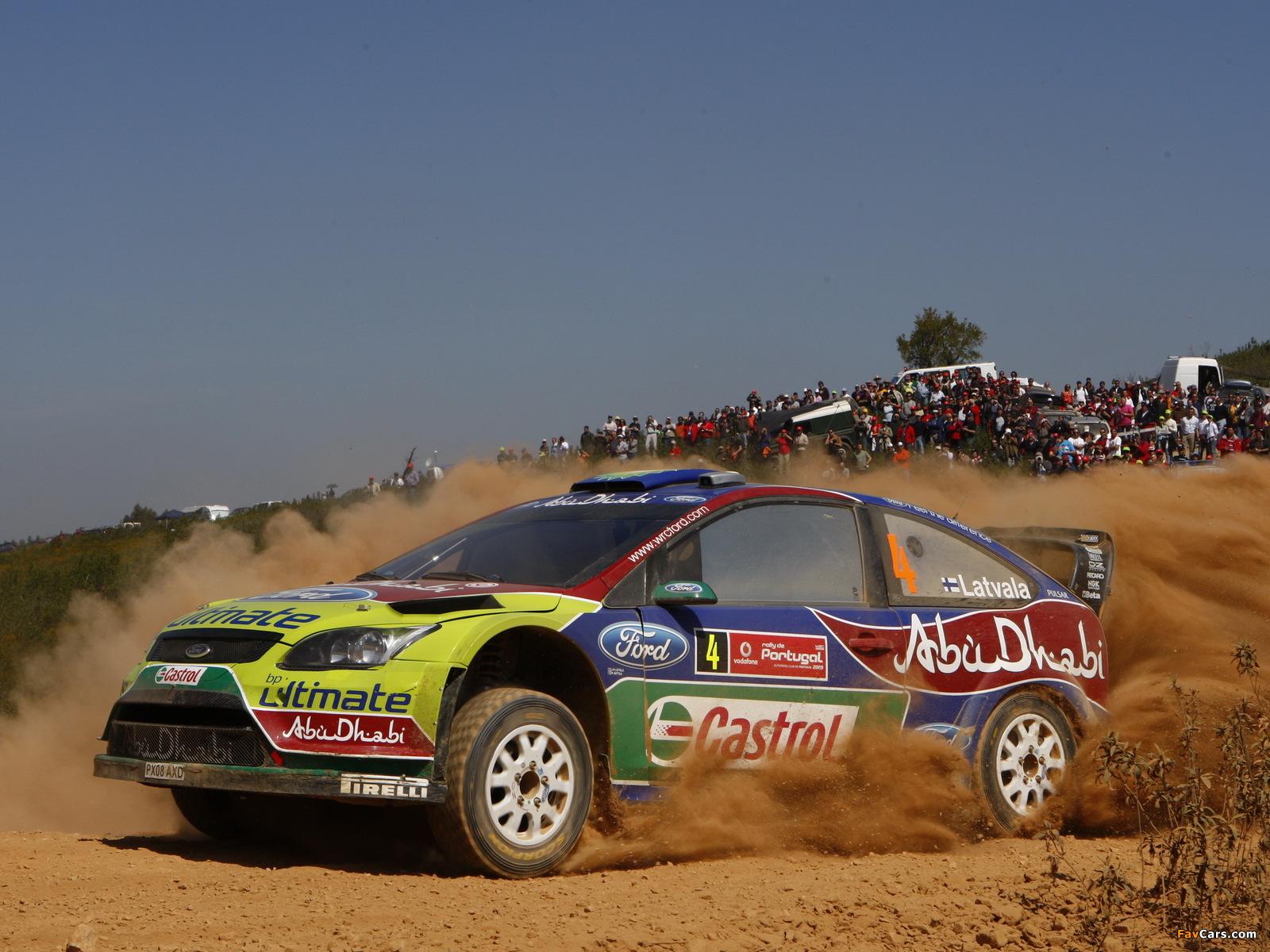 Ford Focus RS WRC 2008–10 photos (1600 x 1200)