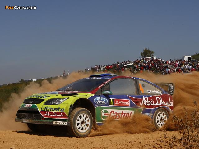 Ford Focus RS WRC 2008–10 photos (640 x 480)