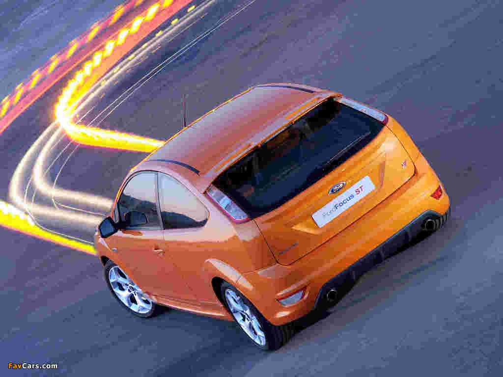 Ford Focus ST 3-door ZA-spec 2008–10 pictures (1024 x 768)