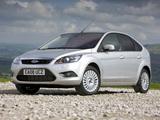 Ford Focus 5-door UK-spec 2008–11 wallpapers