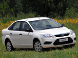 Ford Focus Sedan ZA-spec 2009–10 images