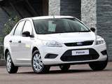 Ford Focus Sedan ZA-spec 2009–10 photos
