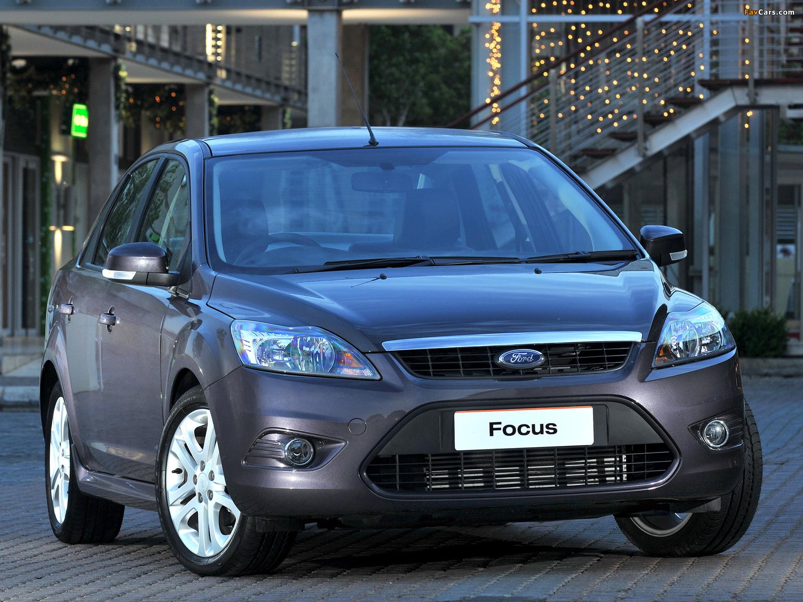 ford focus sedan za-spec 2009–10 wallpapers (1600x1200)
