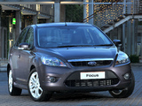 Ford Focus Sedan ZA-spec 2009–10 wallpapers