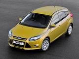 Ford Focus 5-door UK-spec 2010 pictures