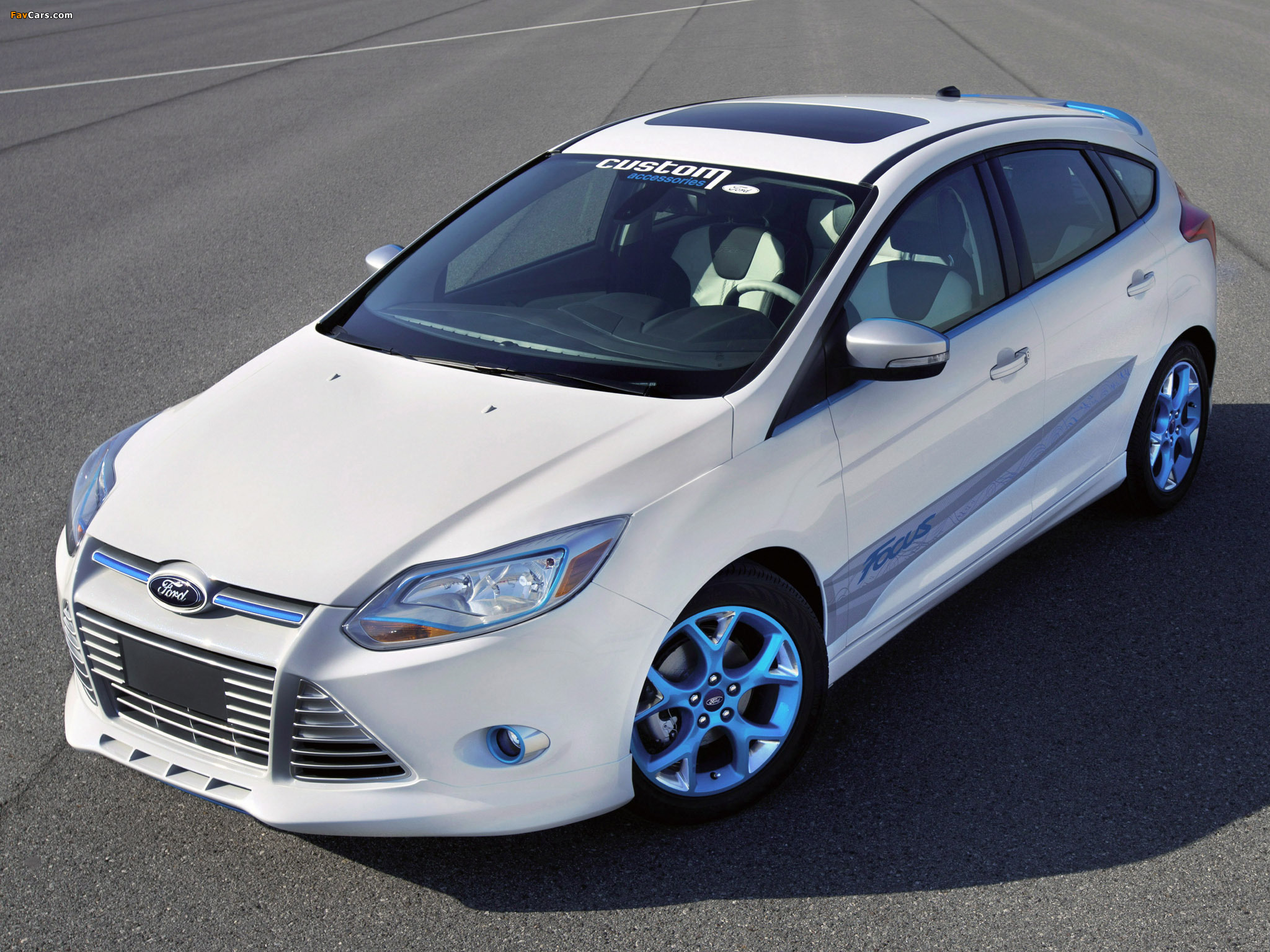 Ford Focus Vehicle Personalization Concept 2010 pictures (2048 x 1536)