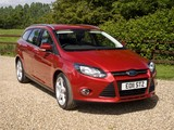 Ford Focus Wagon UK-spec 2010 wallpapers